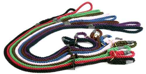 Outhwaite Gun Dog Rope Slip Lead (12mm)