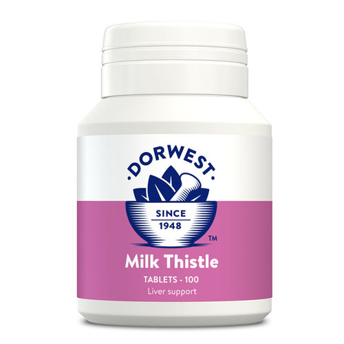 Dorwest Herbs Milk Thistle Tablets