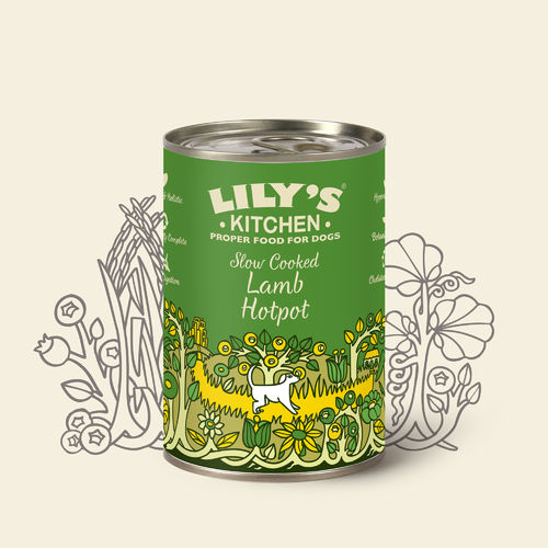 Lily's Kitchen:  Slow Cooked Lamb Hotpot for Dogs Tin Food