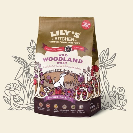 Lily's Kitchen:  Wild Woodland Walk Grain Free Food for Dogs
