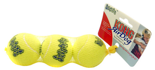 Air KONG Squeaker Tennis Ball - Standard Pack of 3