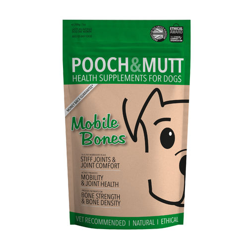 Pooch & Mutt - Mobile Bones Dog Supplement