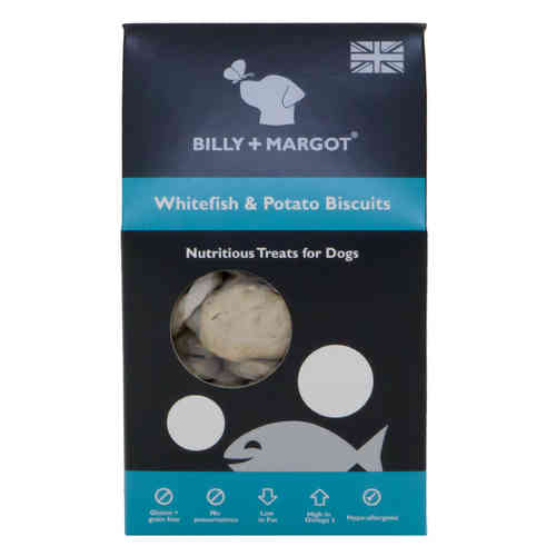 Billy + Margot Whitefish & Potato Biscuits