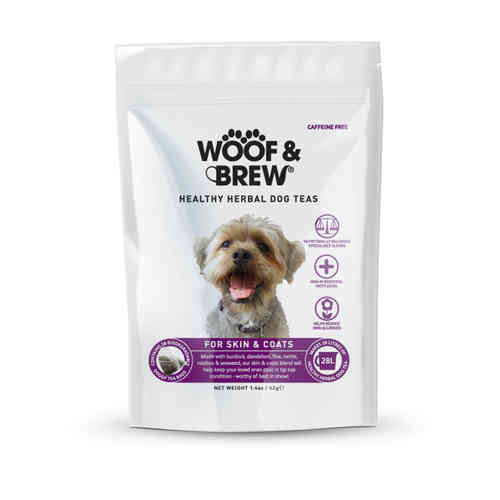 Woof & Brew Herbal Dog Tea - Skin & Coat Blend