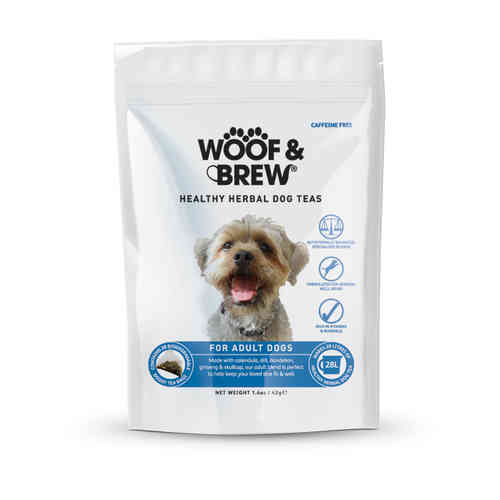 Woof & Brew Herbal Dog Tea - Adult Blend