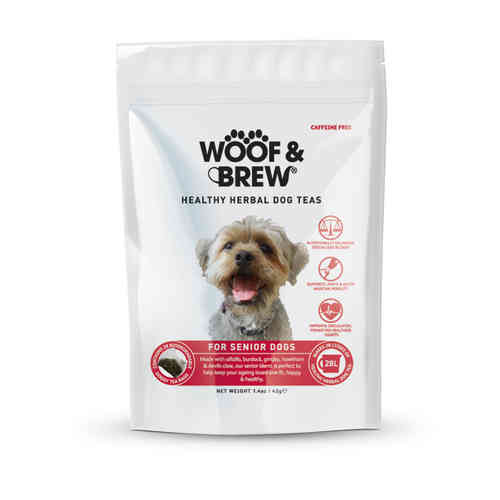 Woof & Brew Herbal Dog Tea - Senior Blend