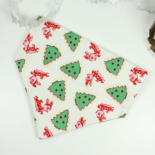Feathers & Tails Xmas - Dancer Bandana (Dog)