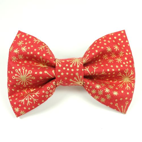 Feathers & Tails Xmas - Vixen Bow Tie (Dog)