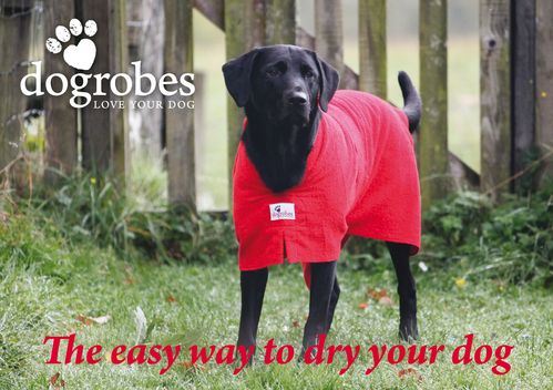 Dogrobes - Dog Drying Coat