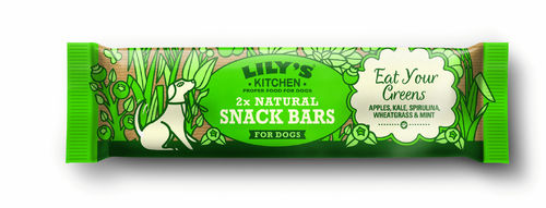 Lily's Kitchen:  Eat Yours Greens Natural Snack Bar
