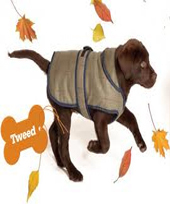 Danish Design - Tweed Dog Coat