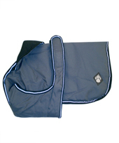 Danish Design - Luxury Dog Coat in Dusty Blue