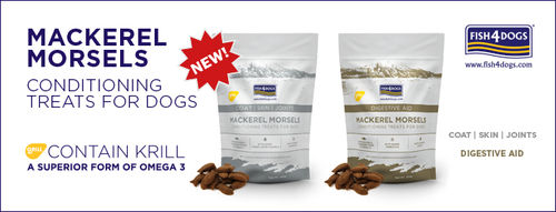 Fish4Dogs Mackerel Morsels - Digestive Aid 225g