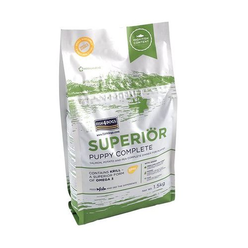 Fish4Dogs - Superior Puppy Food Complete Small-Bite
