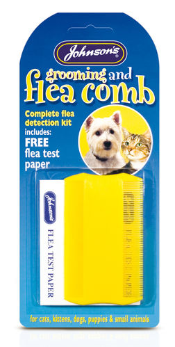 Johnsons Dog & Cat Flea & Grooming Comb