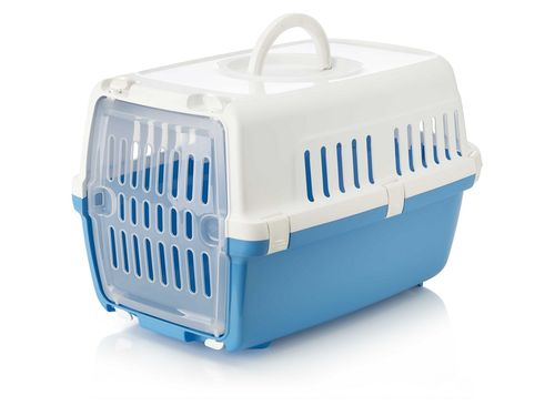 Zephos 1 Pet Carrier White/Pacific Blue