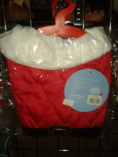 Rosewood Dog Santa Coat