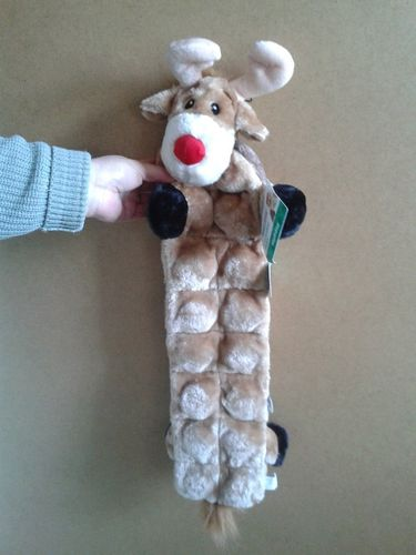 Squeaker Matz™ Long Body - Reindeer