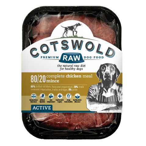 Cotswold Raw Chicken Complete Meal Mince - 80/20 ACTIVE *Collection Only*
