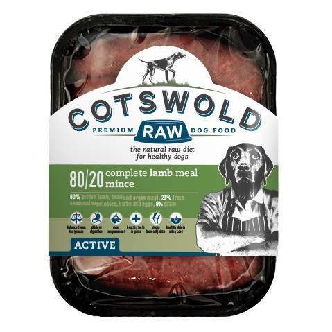 Cotswold Raw Lamb Mince - 80/20 ACTIVE *Collection Only*