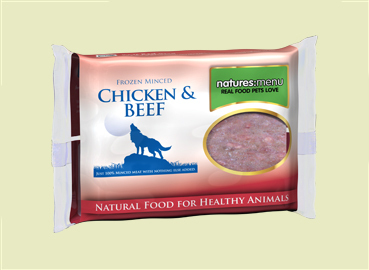 Natures Menu Chicken & Beef Mince for Dogs
