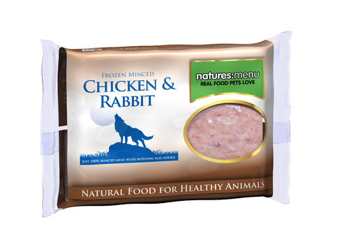 Natures Menu Chicken & Rabbit Mince for Dogs