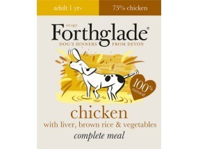 Forthglade Complete Grain Free Adult Chicken with Butternut Squash & Veg 395g