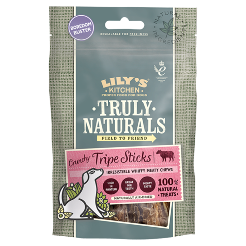 Lily's Kitchen: Truly Naturals Crunchy Tripe Sticks for Dogs