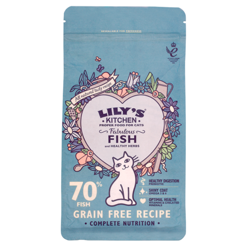 Lily's Kitchen: Fabulous Fish Complete Dry Food for Cats