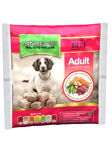 Natures Menu Beef Nuggets for Dogs