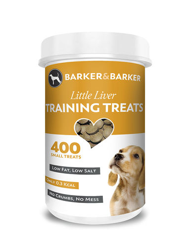Barker & Barker Small Liver Treats - Pot of 400
