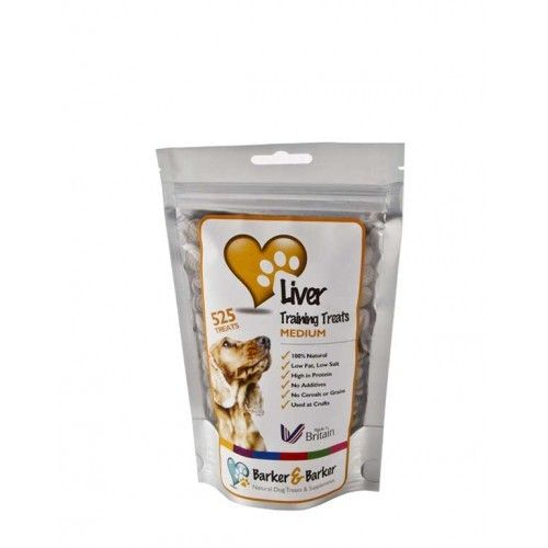 Barker & Barker Medium Liver Treats - Pouch of 525