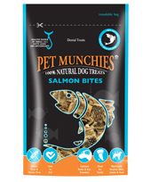 Pet Munchies - Salmon Bites 90g