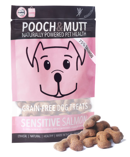 Pooch & Mutt - Sensitive Salmon Dog Treats 80g