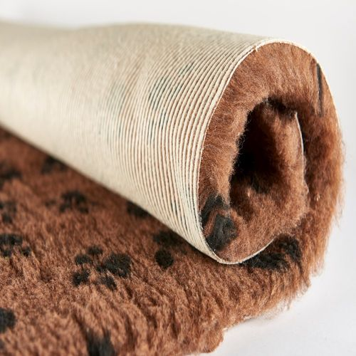 Active Non-Slip Vet Bedding - Brown Paws