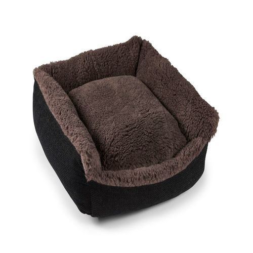 Senior Gold 7+ Pet Bed Cosy - Brown