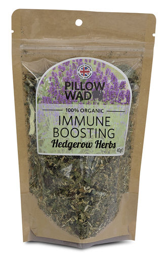 Pillow Wad Immune Boosting Hedgerow Herbs 40g