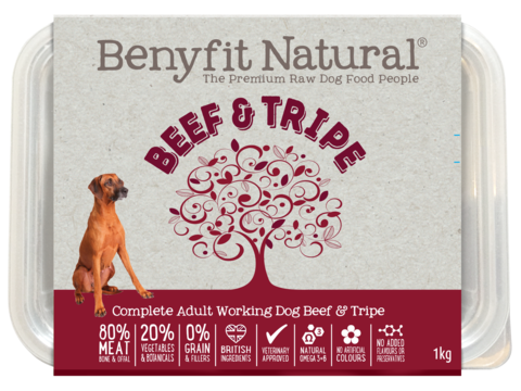Benyfit Natural - Beef & Tripe *Collection Only*