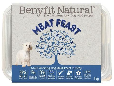 Benyfit Natural - Meat Feast Turkey *Collection Only*