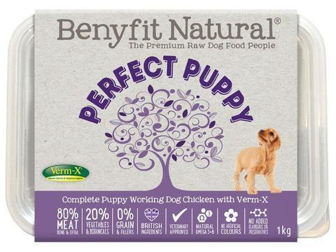 Benyfit Natural - Perfect Puppy Chicken *Collection Only*