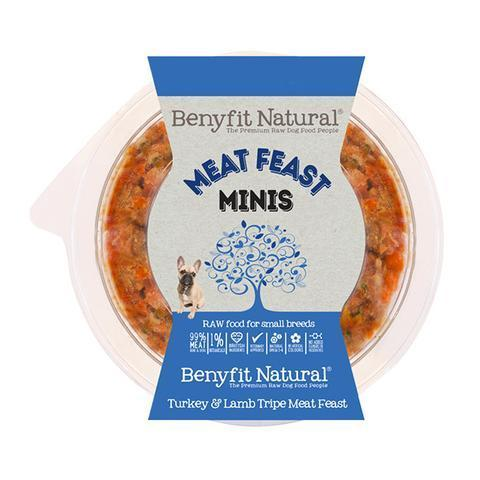 Benyfit Natural - Mini Meat Feast Turkey *Collection Only*