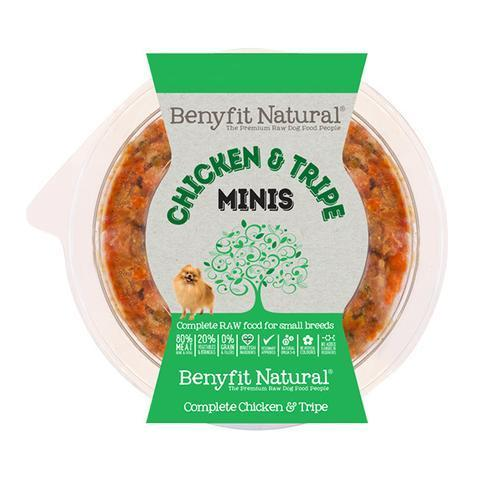 Benyfit Natural - Mini Chicken & Tripe *Collection Only*