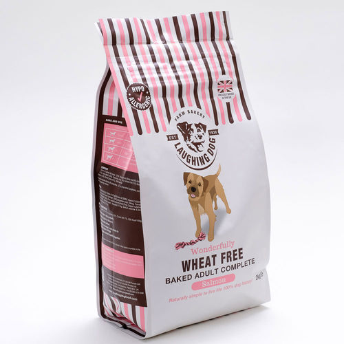 Laughing Dog Wonderfully Wheat Free Salmon Complete Dog Food
