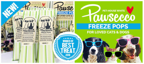 NEW!  Woof & Brew Pawsecco Pops (Box of 6)