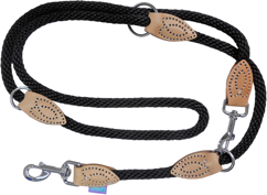 Dog & Co Training Rope Lead - Black