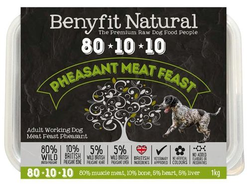 Benyfit Natural - Meat Feast Pheasant *Collection Only*