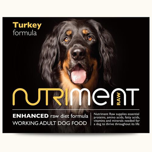 Nutriment Adult - Turkey Formula *Collection Only*