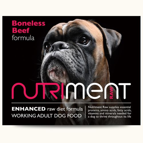 Nutriment Adult - Boneless Beef Formula *Collection Only*