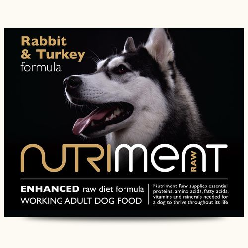 Nutriment Adult - Rabbit with Turkey Formula 500g *Collection Only*