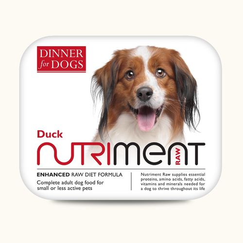 Nutriment Dinner for Dogs - Duck Dinner 200g *Collection Only*